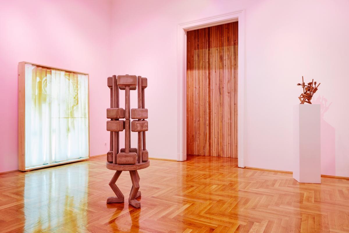 'A Mirror Dimly' by István Csákány at Glassyard Gallery