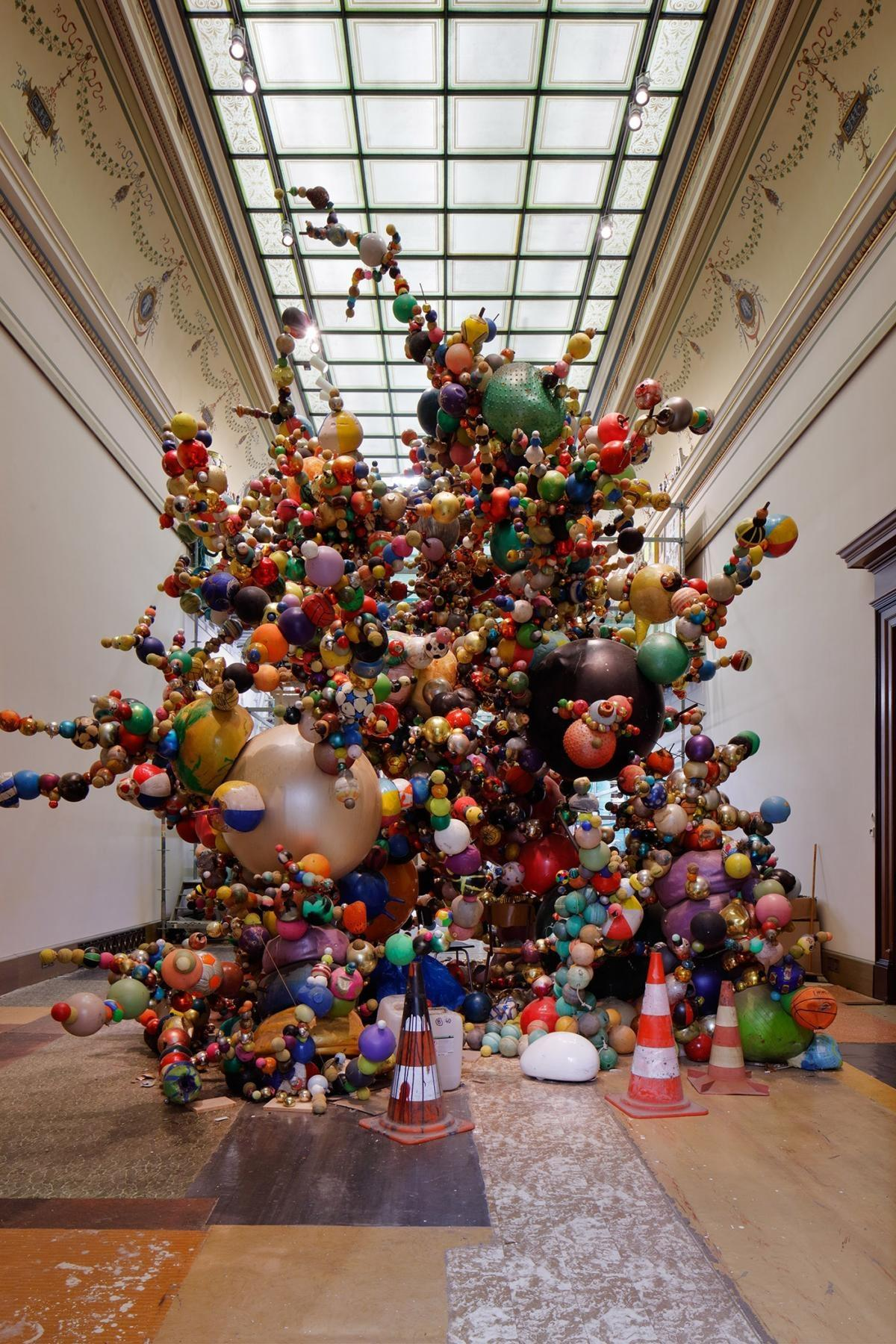 'Nervous Trees' by Krištof Kintera at the Galerie Rudolfinum