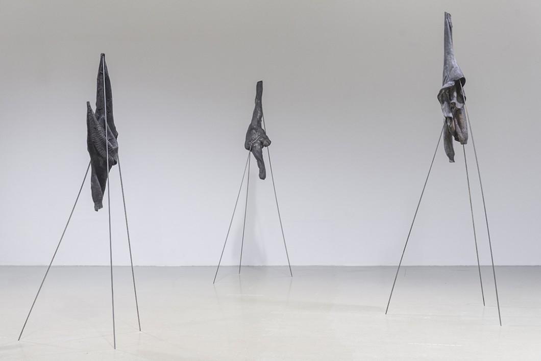 'Psycho-vertical' by Štefan Papčo at Kunsthalle Bratislava