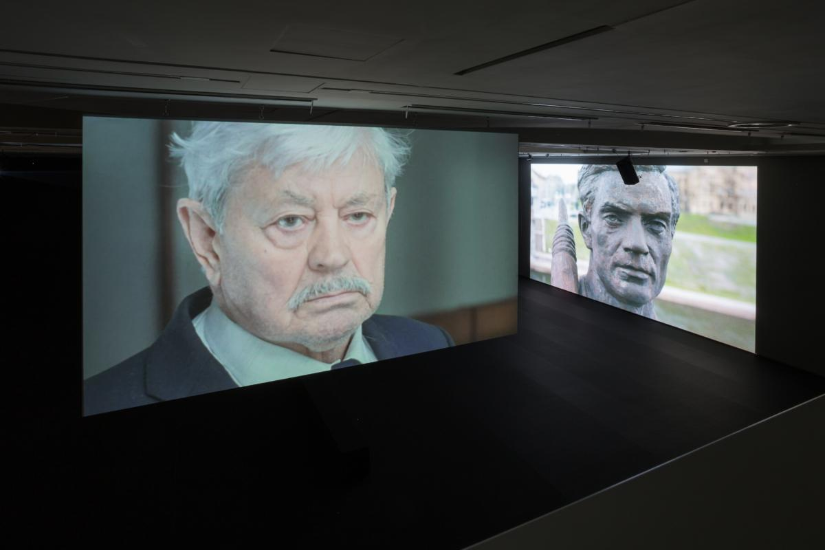 'Stains and Scratches' by Deimantas Narkevičius at National Gallery of Art in Vilnius
