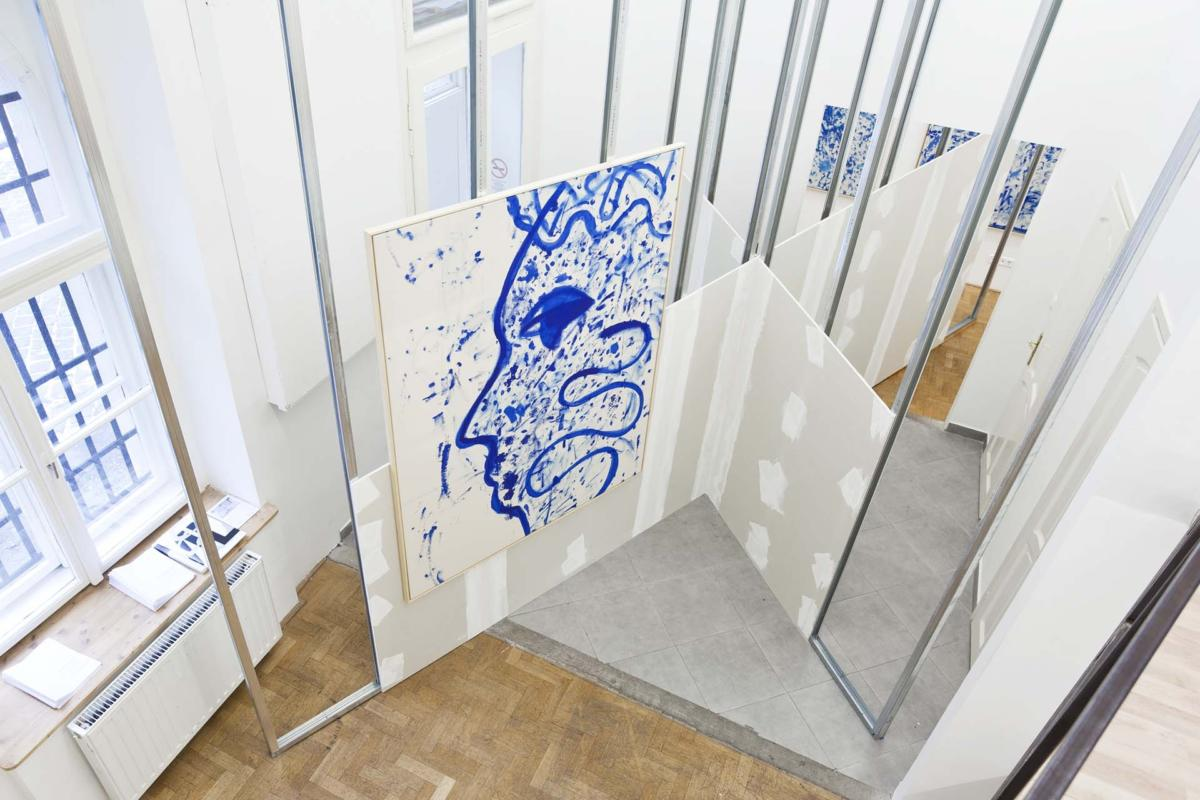 'Interpreter's Booth. An exhibition in two chapters by Anu Vahtra and Martin Lukáč at Chimera-Project Gallery