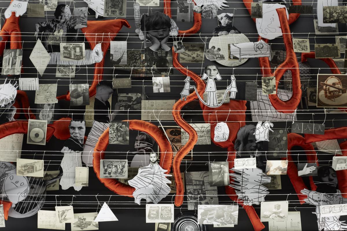 'The Dream Machine is Asleep' by Eva Kot'átková at Pirelli HangarBicocca