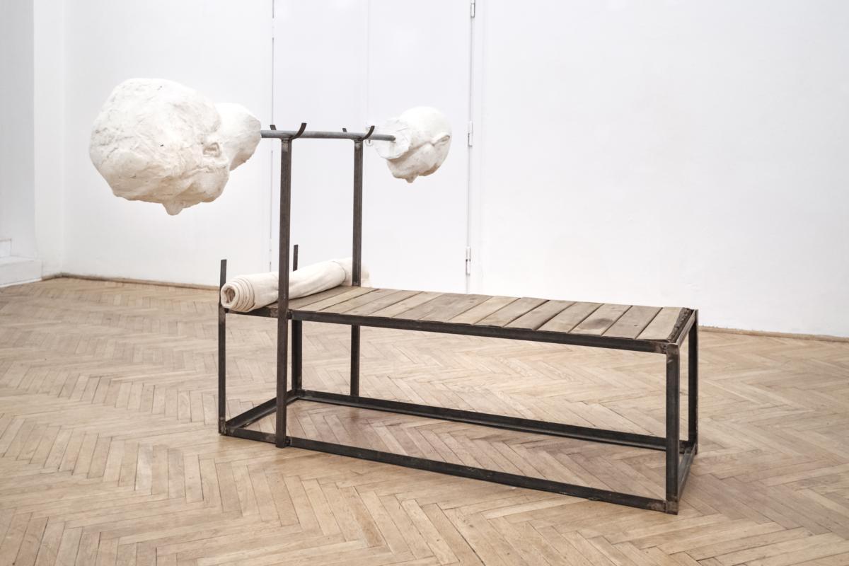 'Gym (Jõusaal)' by Augustas Serapinas at Piktogram
