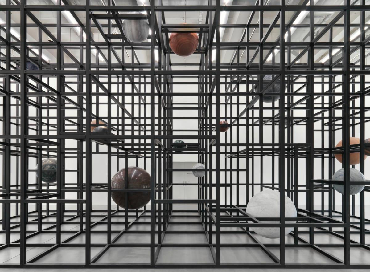 'LinienLand' by Alicja Kwade at Museum Haus Konstruktiv