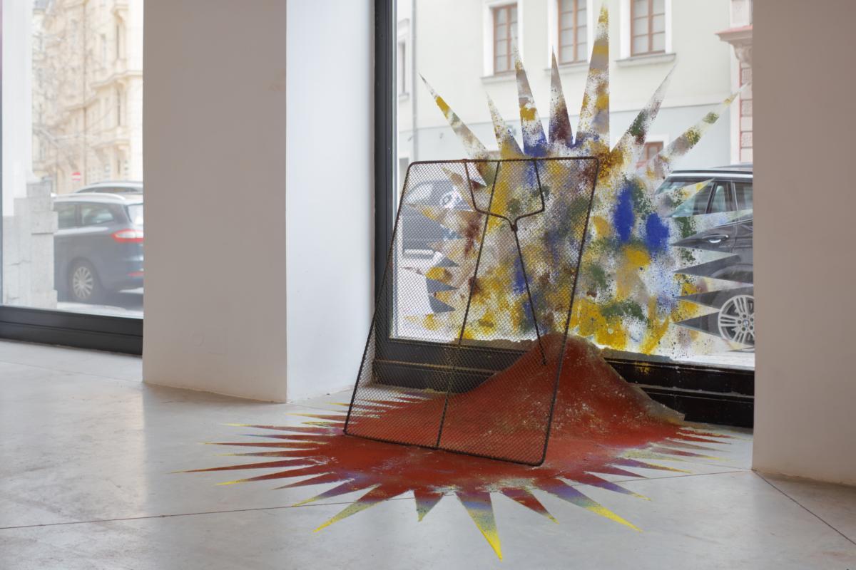 'Trump versus Godzilla' by Jiří Černický at DSC Gallery