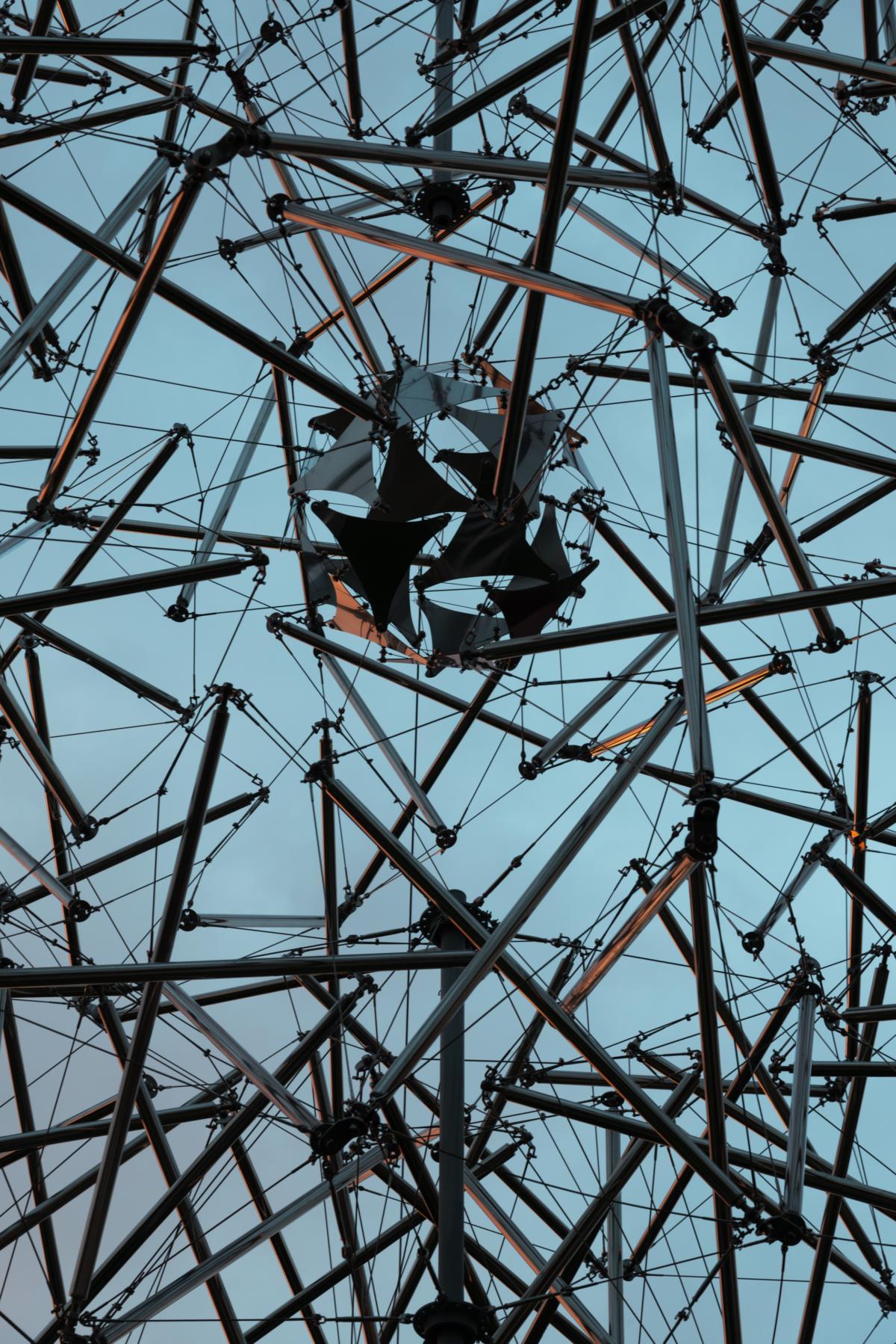'Atom' (1967/2018) by Viacheslav Koleichuk at Garage Museum of Contemporary Art