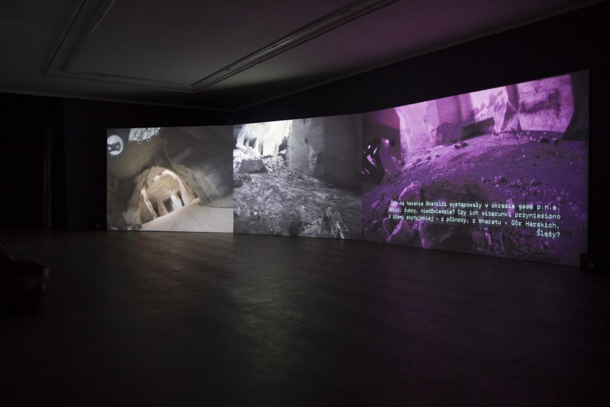 'The Beginning' by Hubert Czerepok at Arsenal Gallery in Białystok