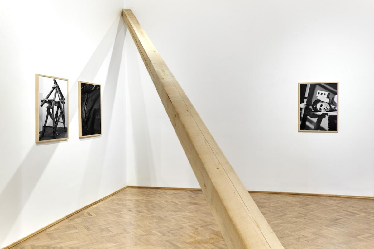 'Hero Mother_Subtitle' by Péter Puklus at Glassyard Gallery