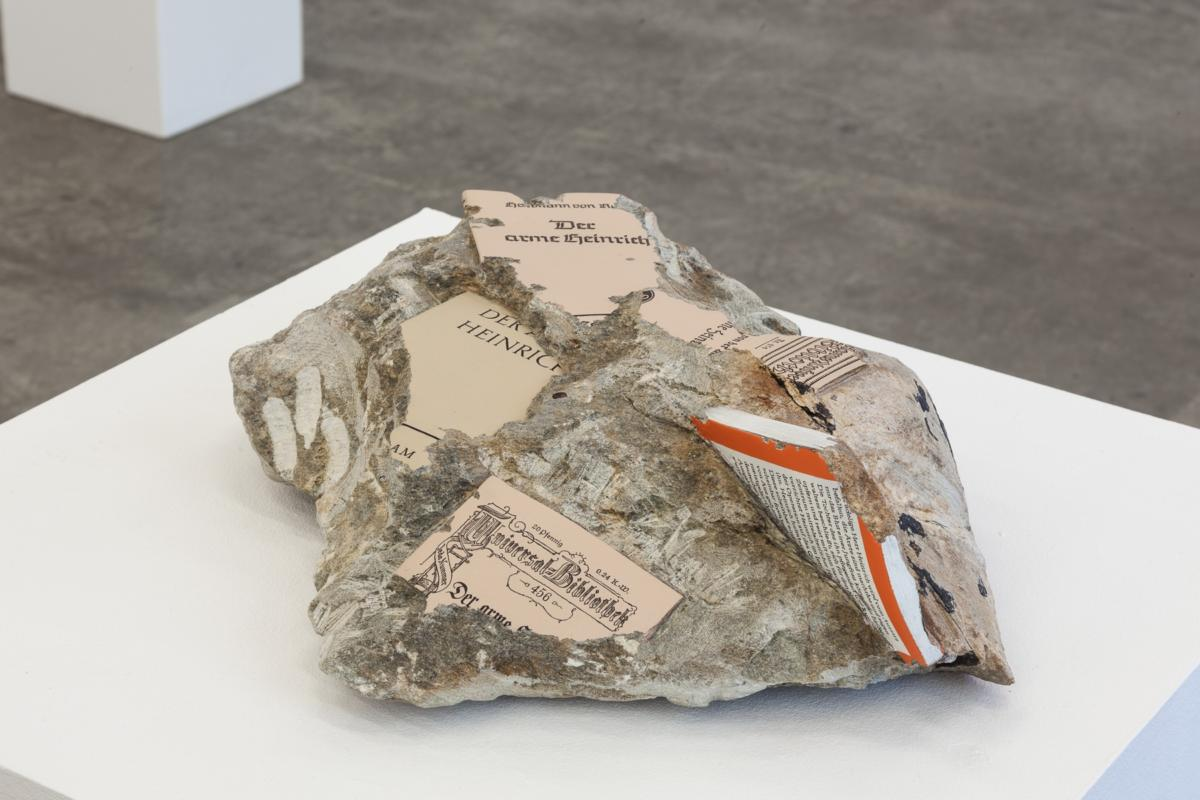 'Books and Papers II' at Christine König Galerie