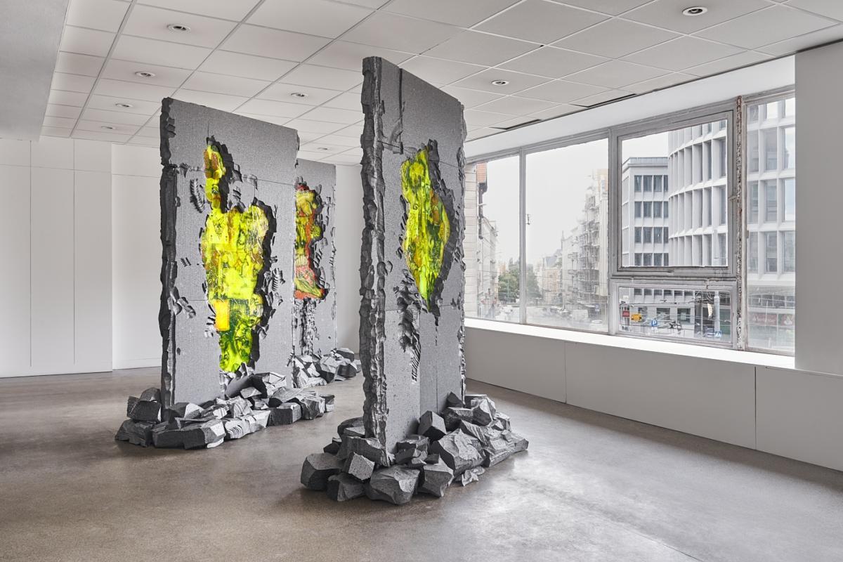 'Post-thermomodernisation studies' by Stachu Szumski and Satoshi Kawata at Dom Książki in Poznań