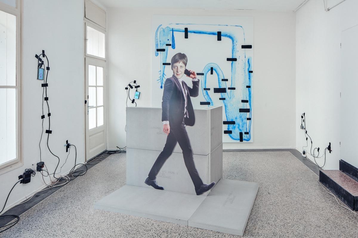 'Deep Tissue' by Florian Meisenberg at Berlinskej Model