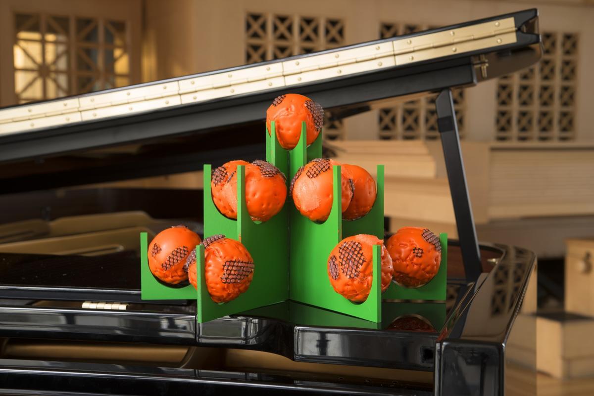 'Orange Juice Symphony', off-site show by Jiří Procházka