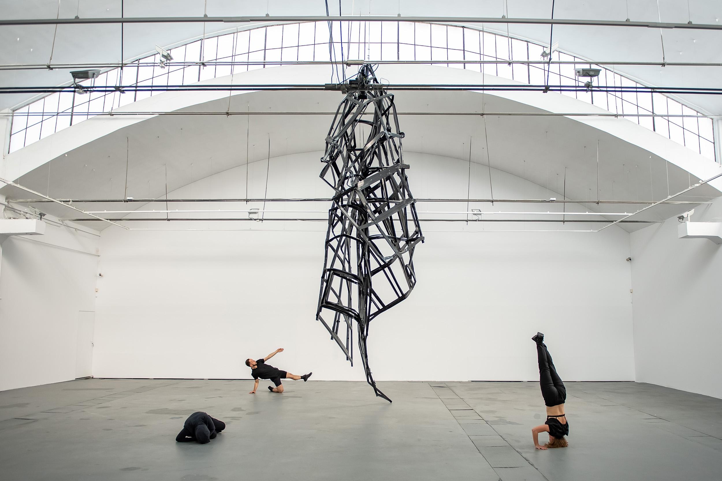 [EN/PL] 'Facade' by Monika Sosnowska at Galeria Labirynt