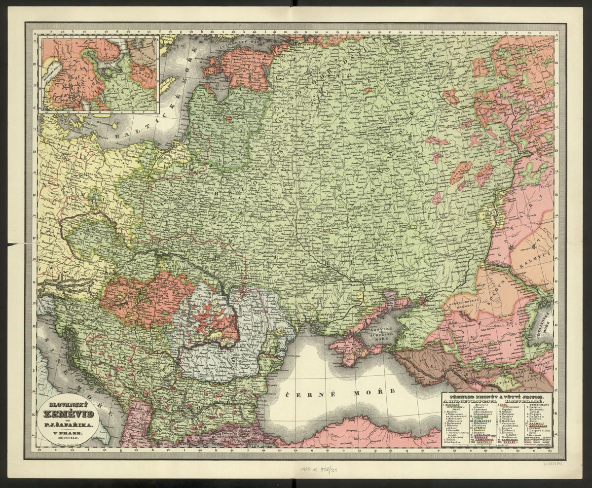 Mapmaking as Image-making: The Case of East Central Europe