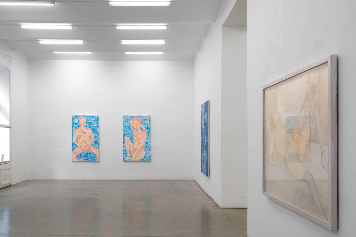 [EN/DE] 'PIERRE KLOSSOWSKI + RADE PETRASEVIC | Eros + Beelzebub' at Christine König Galerie