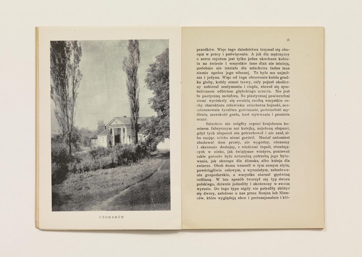 Jan Bułhak, 'Wędrówki fotografa w słowie i obrazie. VI. Człowiek twórcą krajobrazu' (1936)