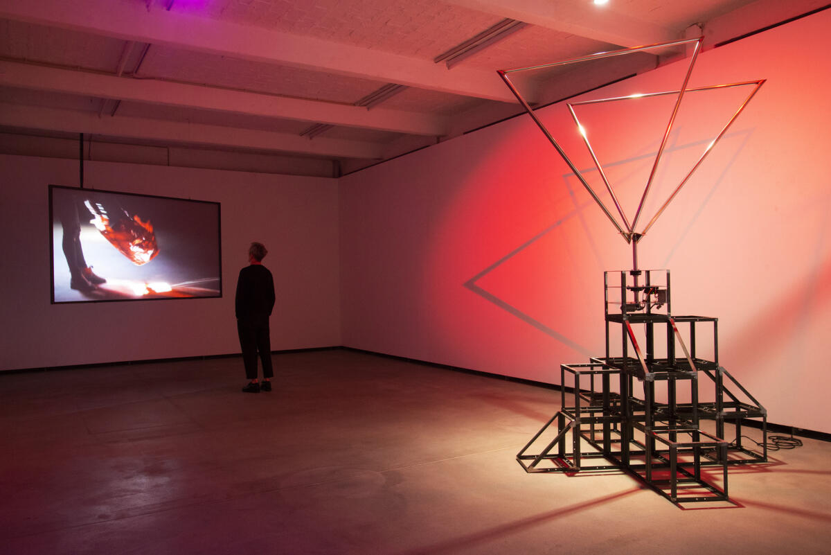 'SUNBURST' by Amélie Laurence Fortin at Künstlerhaus Bethanien