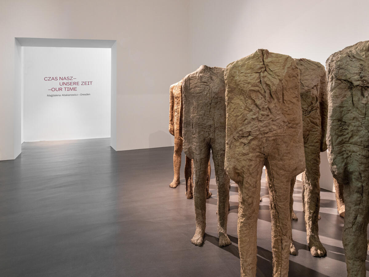 [EN/PL/DE] Magdalena Abakanowicz and Günther Uecker at Albertinum and MNWr