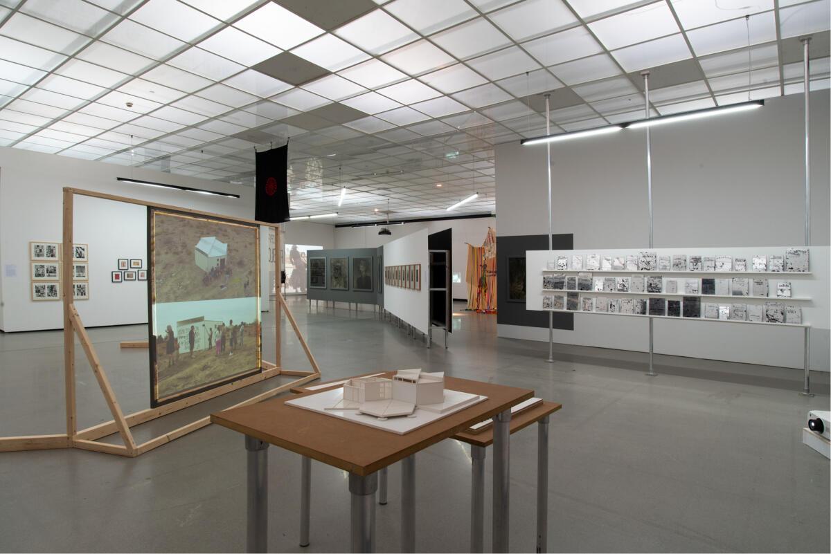 [EN/DE] 'Actually, the Dead Are Not Dead. Una forma de ser' at Kunstverein Stuttgart