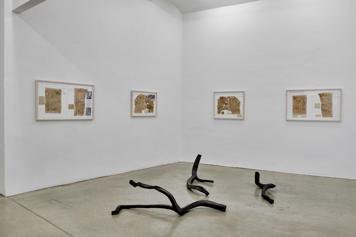 [EN/DE] 'Jimmie Durham   1948' & 'Honza Zamojski' at Christine König Galerie